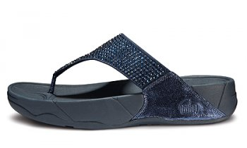 New Womens Fitflops Rokkit Sandals Super Navy