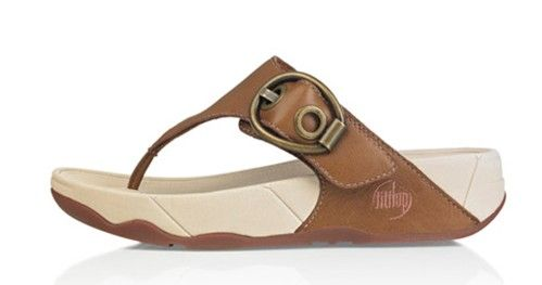 Fitflop Hooper Sandal Tan Toning Newstyle