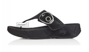 Fitflop Hooper Toning Sandal Black Hot Sale