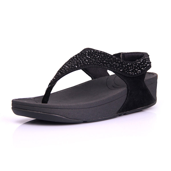 Fitflop Suisei Thong Sandal Black For Women