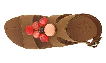 Womens Fitflop Arena Slide Brown Newstyle