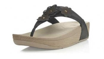 Women Fitflop Fiorella Sandals Black Hot Sale