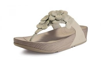 Womens Fitflop Fleur Urban White Newstyle
