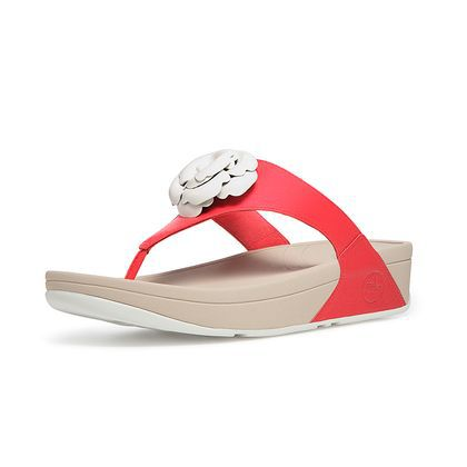 Womens Fitflop Florent Sandal FF Red Hot Sale