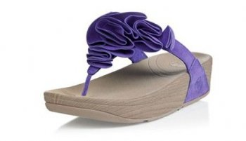 Womens FitFlop Frou Indigo Sandals Hot Sale
