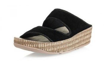 Womens Fitflop Lolla Black Sandals Hot Sale