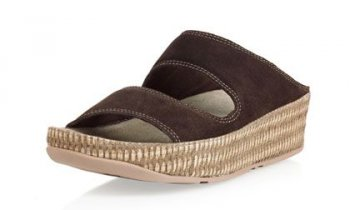 Womens Fitflop Lolla Choc Sandals Hot Sale