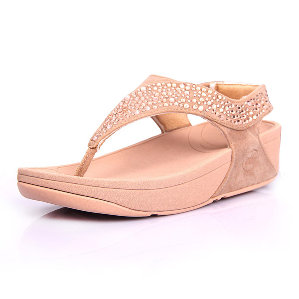 Womens Fitflop Suisei Thong Sandal Nude Hot Sale