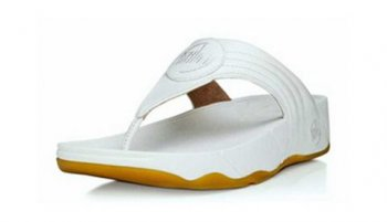 Womens Fitflop Walkstar 3 Sandals White Hot Sale