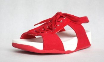 Womens Fitflop Red Shoes New Arrival