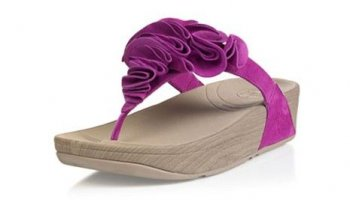 Womens FitFiops Frou Fuchsine Sandals Hot Sale