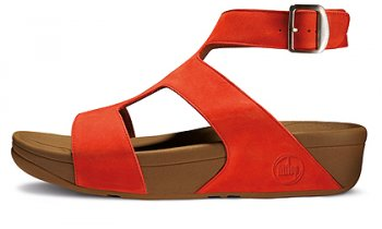 Womens Fitflop Arena Slide Red New Arrival