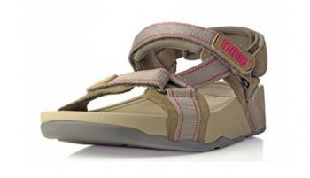 Womens Fitflop Hyker shoes Brown Newstyle