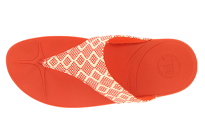 Womens Fitflop Palma Orange New Arrival