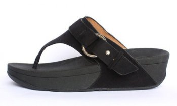 Womens Fitflop Via Black New Arrival