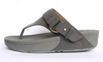 Womens Fitflop Via Grey New Arrival