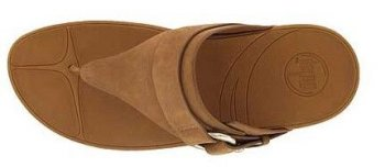 Women's Fitflop Via (Nubuck) Tan Newstyle