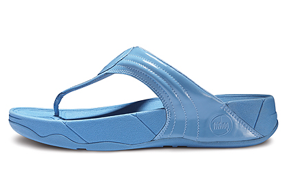 Womens Fitflops Walkstar 3 Blue New Arrival