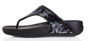 Women's Fitflop Electra Sandals Strata Black Magic