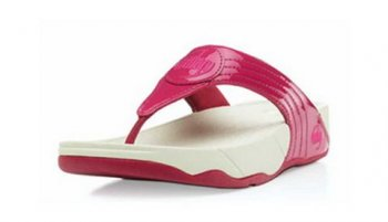 Women Fitflops Walkstar 3 Pink Patent Toning