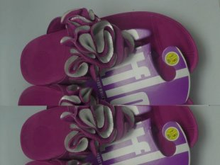 Amazing Fitflop Frou Flower Sandals Purple
