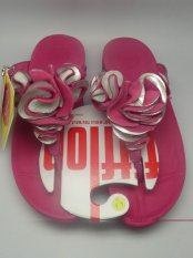 Amazing Fitflop Frou Flower Sandals Red Hot Sale