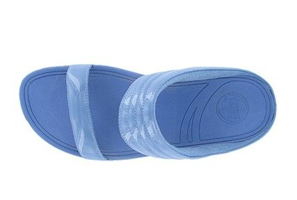 Women FitFlop Walkstar Slide Sporty Blue Hot Sale