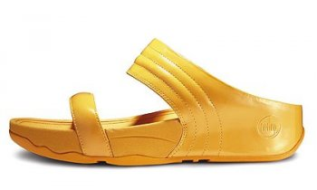 Women FitFlop Walkstar Slide Sunflower Yellow
