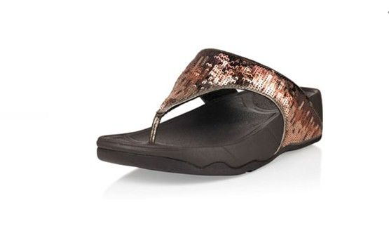 Fitflop Electra Strata Tiger Eye Sandals thong
