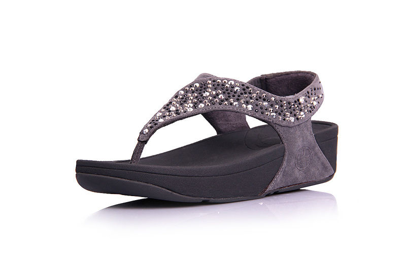 Fitflop Womens Suisei Thong Sandal Grey Hot Sale
