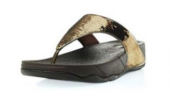 Women Electra Brown Fitflop Thong Sandal
