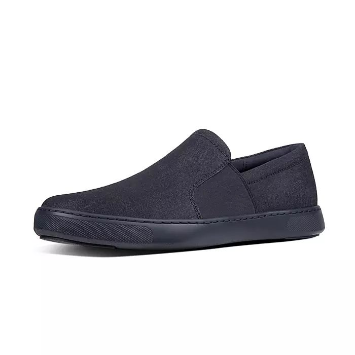 Collins Men's Denim Slip-On Skate Shoes