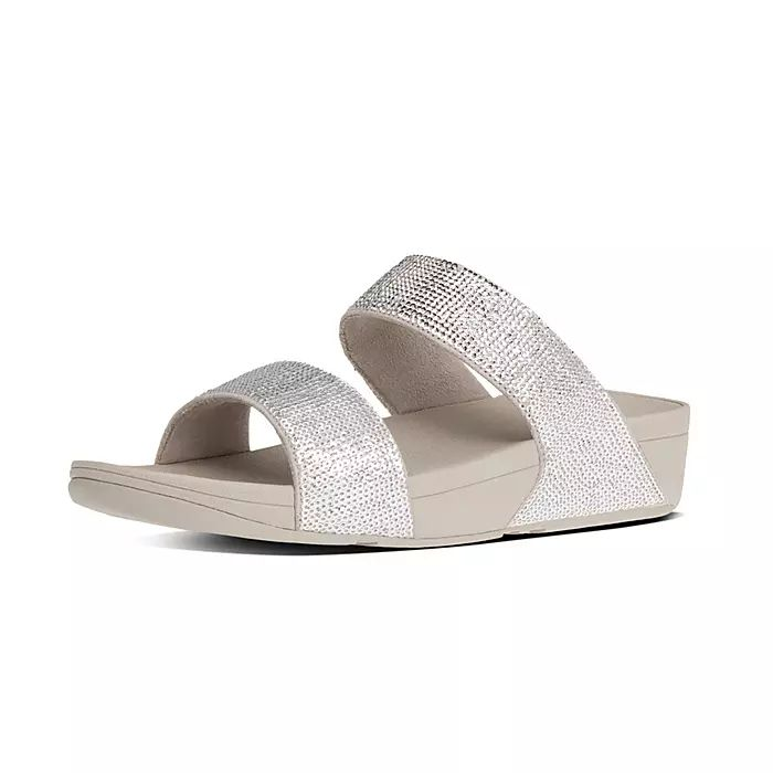 Electra Sequin Slide Sandals