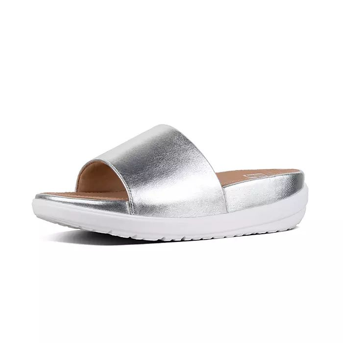 Loosh Luxe Metallic Leather Slides