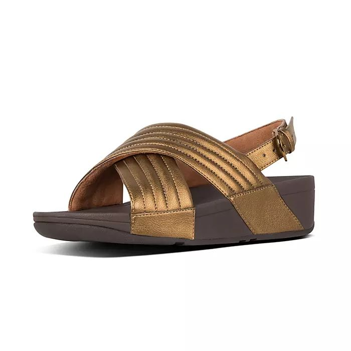 Lulu Padded Back-Strap Sandals