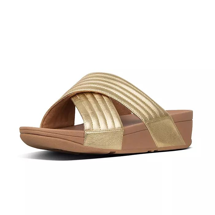 Lulu Padded Cross Slides